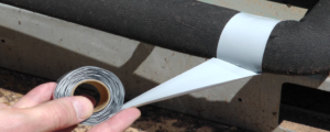 Isermal tape for HVAC